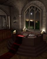 Gothic Bath by Lazy6pyro