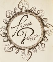 Logo for my Art Store... Tezzar's Designs! by t-e-z-z