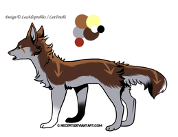 CLOSED - Canine Adoptable 48 - REDUCTED PRICE by LeaAdoptables