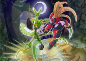 Megaman Zero 3- Deathtanks Mantisk by ultimatemaverickx