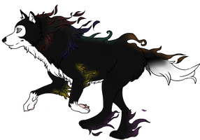 Lycan at full power by DraconianQueen
