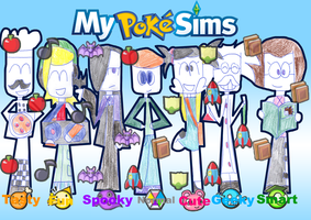 My PokeSims by zigaudrey