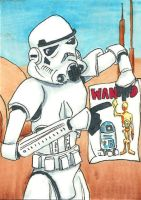 These are the droids you are looking for by burning-thirteen