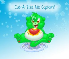 Cub-A-Tize Me Captain by BlazeHeartPanther