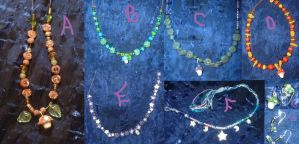 Magical glowing Jewelry by silverbeam
