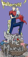 Wiccan Babysits the Marvel U by magickmaker