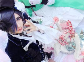 Ciel Phantomhive Cosplay by Kagenou