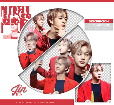 #086 | Pack PNG | Jin | BTS by clearlikecrystal