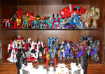 My Transformers Display Case 6 by Air-Hammer