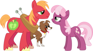 Winona the Third Wheel by PsychoanalyticBrony