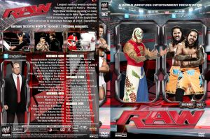 WWE Raw December 2013 DVD Cover by Chirantha