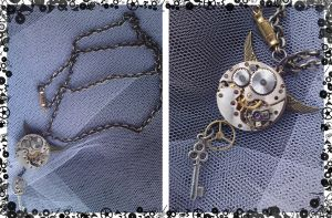 Steampunk Jewellery  II by karla-chan