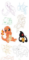Pokemon doodles #1
