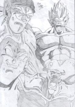 Villains dragon ball z by Rocky-Drago