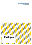 Thank you card template by thenameisCarbon