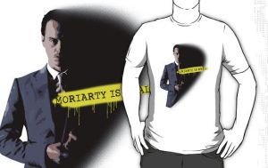 MORIARTY WAS REAL by fudgemallow