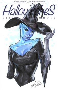 Nebula as witch by Elias-Chatzoudis