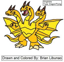 Fakemon: King Ghidorah by Brian12