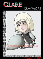 Clare Claymore by pgushi