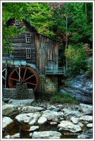 Grist Mill by TRBPhotographyLLC