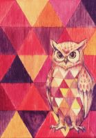 Owl triangle by Curry-24