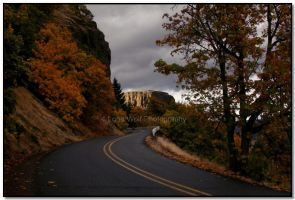 Autumn in the Gorge  003 by LoneWolfPhotography