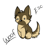 Woof by ShyEcho