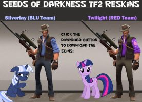 TF2 Seeds Of Darkness Reskins by Cowboygineer