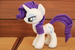 Rarity Plush 4 by nekokevin