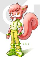 Vel The Squirrel by Kampidh