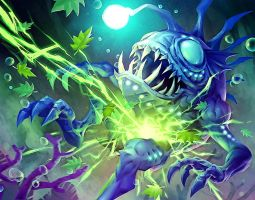 Shock of the elements -WoW tcg by michalivan