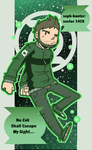 Cranky Space Cop by seph-hunter