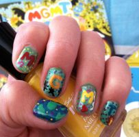 MGMT Nails by originofemilie