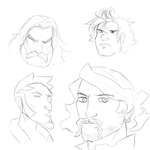 Even More Faces by owlizard