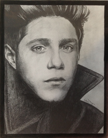 Niall Horan GQ drawing by lilmisscoolio