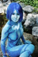 Halo - Cortana 4 by Hyokenseisou-Cosplay