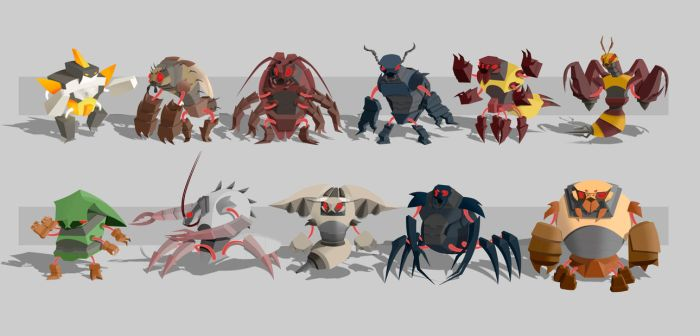 Bio-Mechs by superivp