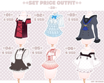 (SET PRICE OPEN-6/6)OUTFIT 28 by krianart