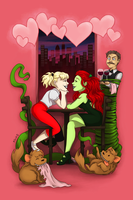 Harley and Ivy V Day Date by msciuto