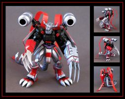 neo crimson custom figure  -  commission by nightwing1975