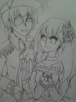 Pirate!England and Princess!Malaysia~ by AhasakiYuuki