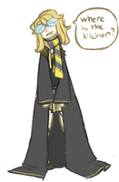 The laziest hufflepuff by Coffee-and-Paperbags