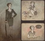 Miss Mycroft by Sash-kash