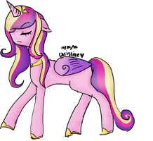 Test: Cadance (MLP) by FluffyGummieBears