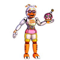 Funtime Chica by TheRealBoredDrawer