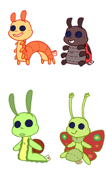 The Bug Toy Line by donut-toast