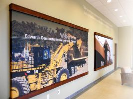 Cat Edwards Demonstration Center by signcrafter
