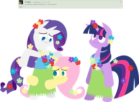 Two and a Half Hula Mares by Zacatron94