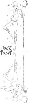 Jack Frost from Rise of the Guardians #3 by SethKuroiHuke