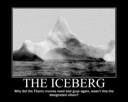 The Iceberg Demotivational by TheblueV3